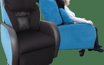 The Cura Air Chair & Cura Attollo Bariatric Portable chair (standard & bespoke options)