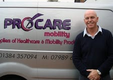 Jeff Sutton of ProCare Mobility