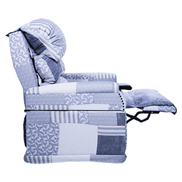 The Elevator, the best recliners for Muscular Dystrophy and Wheelchair users leg rest options