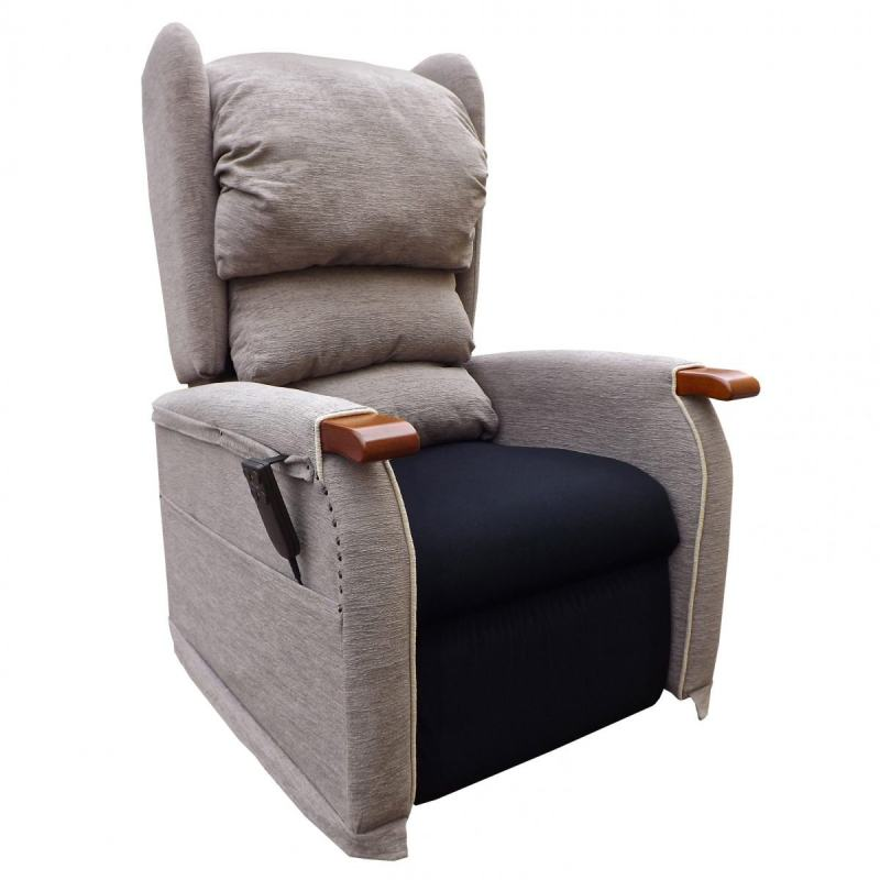 The Millennium Recline Chair with dual rise and recline with tilt in space